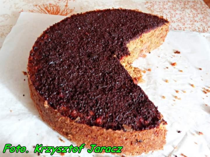 Ciasto buraczkowo –  marchewkowe.