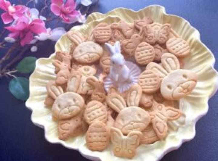 Migdałowe ciasteczka wielkanocne