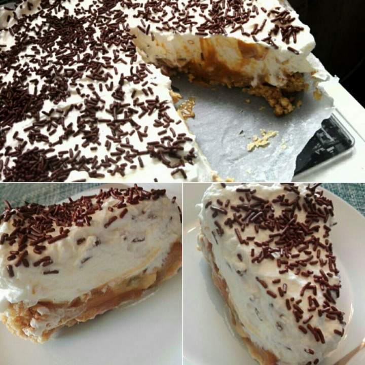 Banoffee Pie (ciasto bez pieczenia)