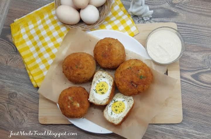 Kotlet z jajkiem