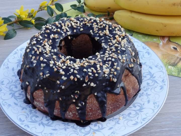 Babka bananowo-czekoladowa