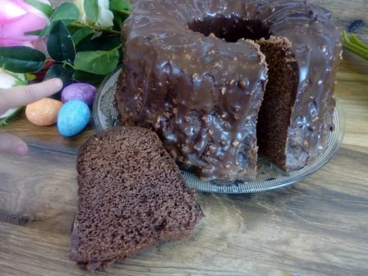 Babka czekoladowo – orzechowa