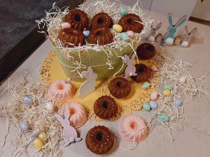 Bananowe babeczki na Wielkanoc do koszyczka