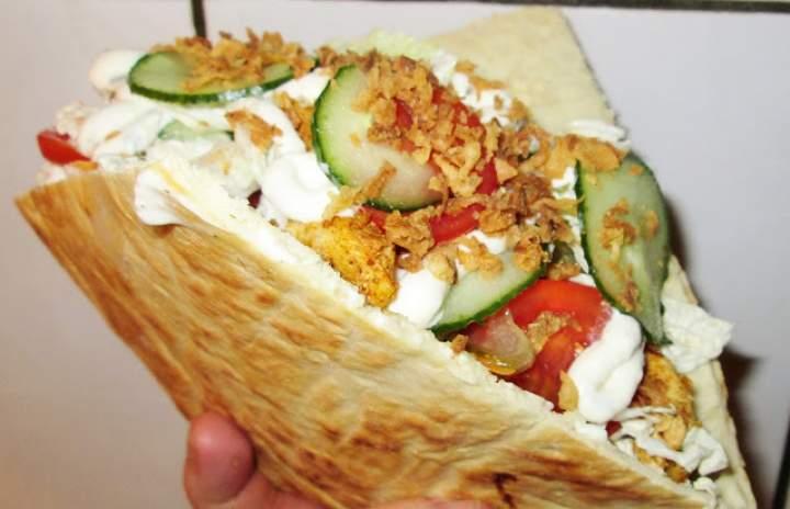 Domowy KEBAB, bułki do kebaba (po prostu pycha)+FILM