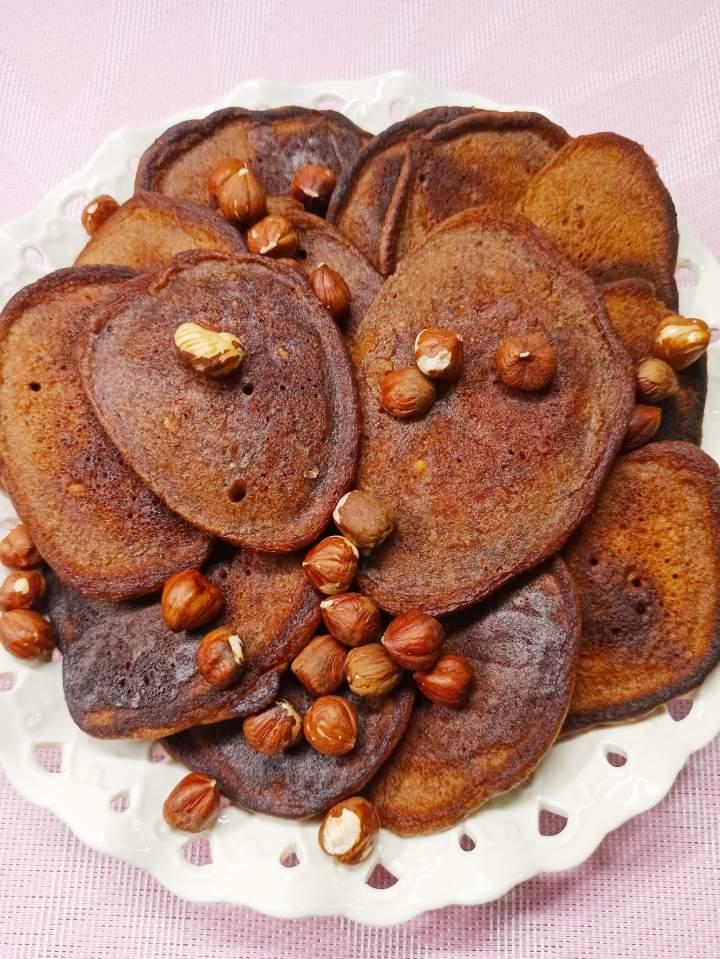 Placki czekoladowo-orzechowe