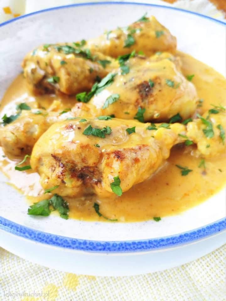 Pałki w sosie curry