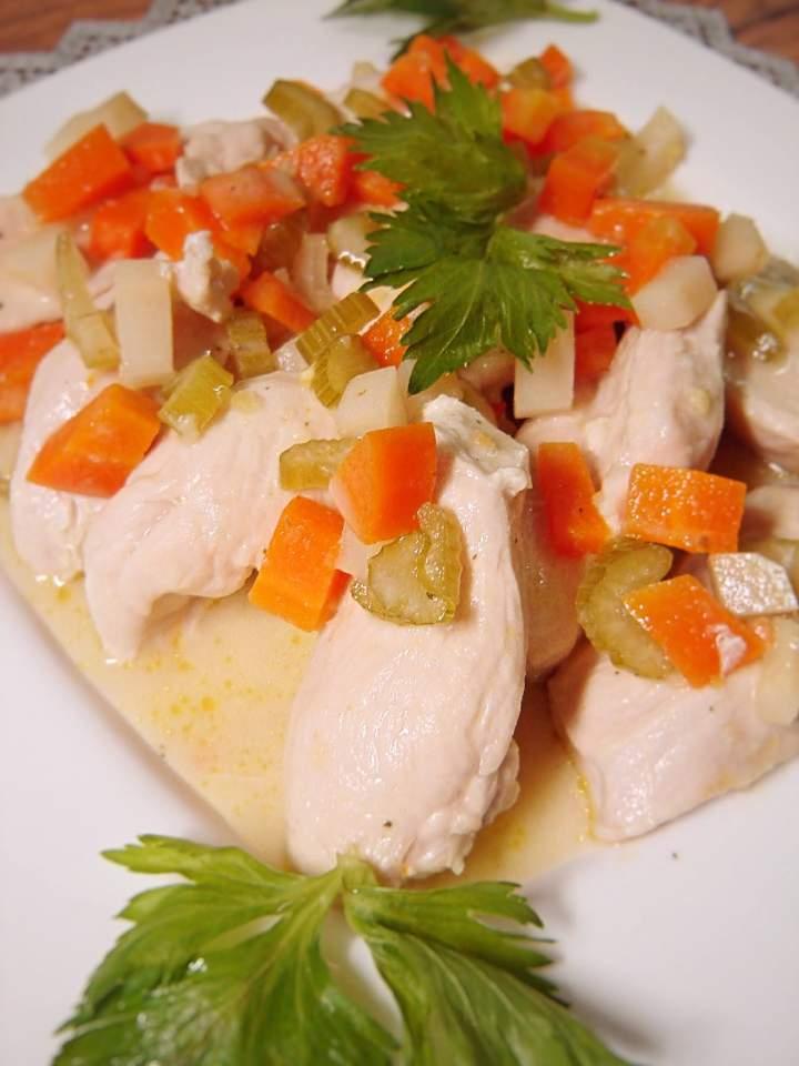 Potrawka z piersi kurczaka
