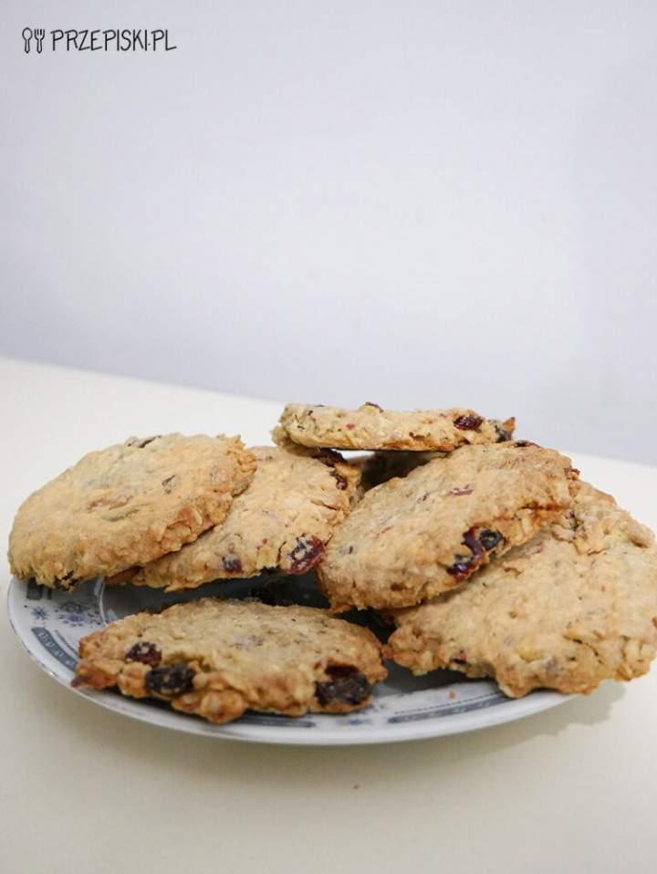 Ciasteczka Owsiane w 15 Minut