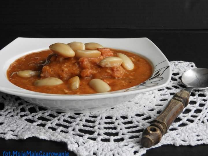 Zupa fasolowa – Zuppa di fagioli lub ribollita