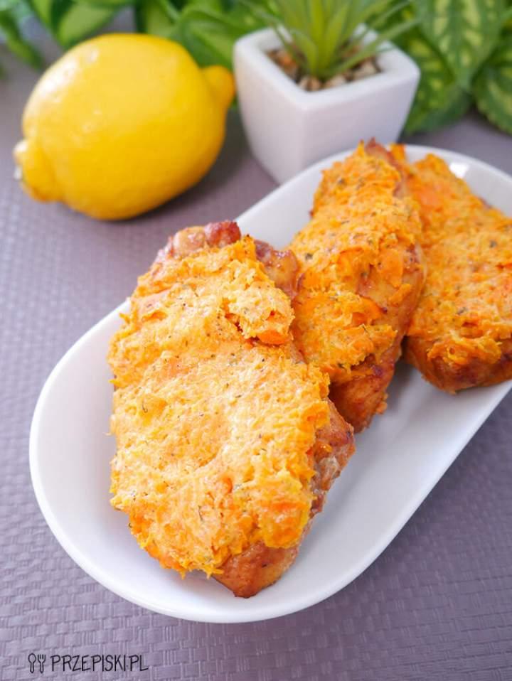 Filet z Kurczaka pod Marchewkową Pierzynką