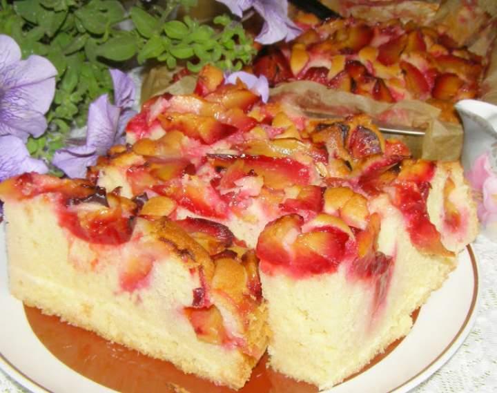 smaczne,łatwe, szybkie ciasto ucierane ze śliwkami…