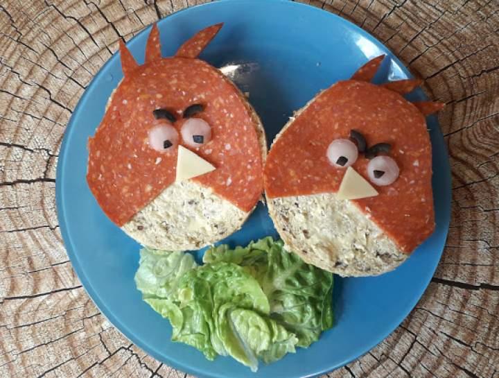 "Kanapki ""Angry Birds"""