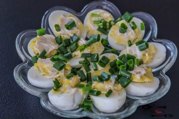 Jajka faszerowane II