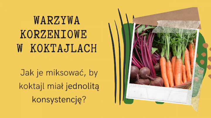 Jak zmiksować twarde warzywa korzeniowe na gładki koktajl?