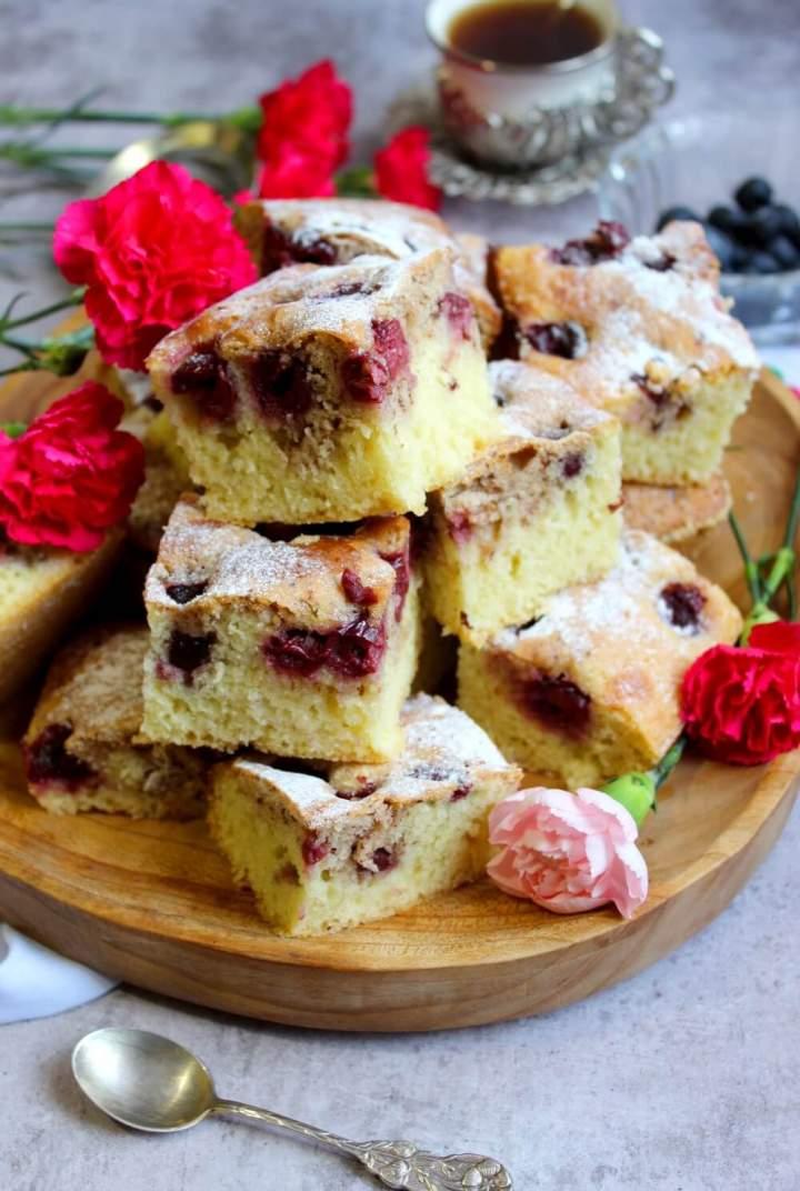 Łatwe i szybkie ciasto z owocami