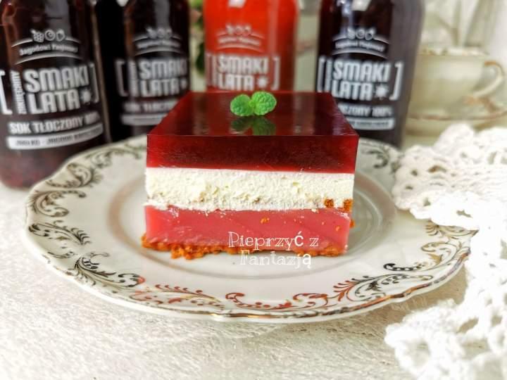 Leśna Fantazja – ciasto bez pieczenia