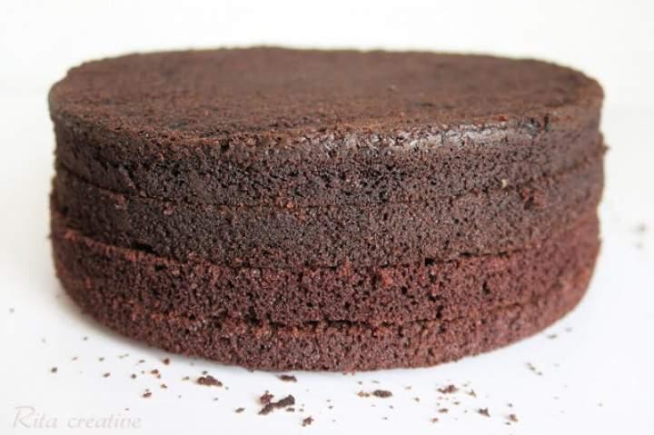 CIASTO KAKAOWO KAWOWE jako baza do tortów i ciast