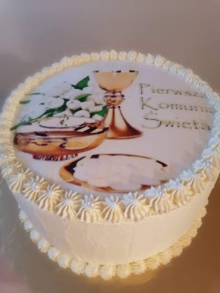 Tort rafaello z wiśniową żelką