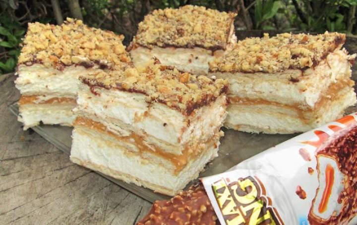 Ciasto MAXI KING w 15 minut-bez pieczenia+FILM