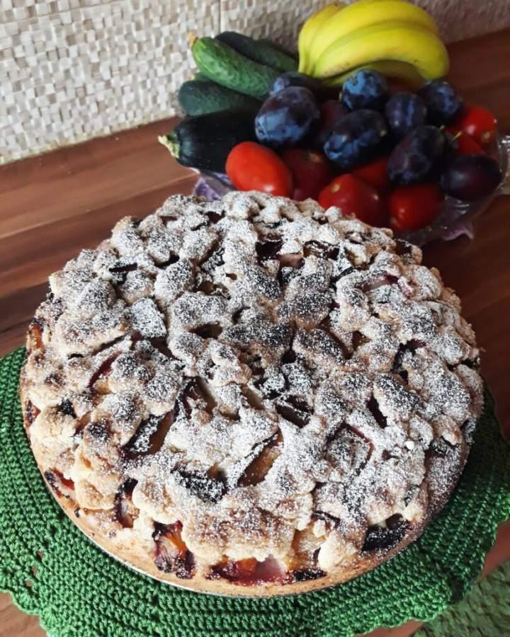 Ciasto widelcem mieszane
