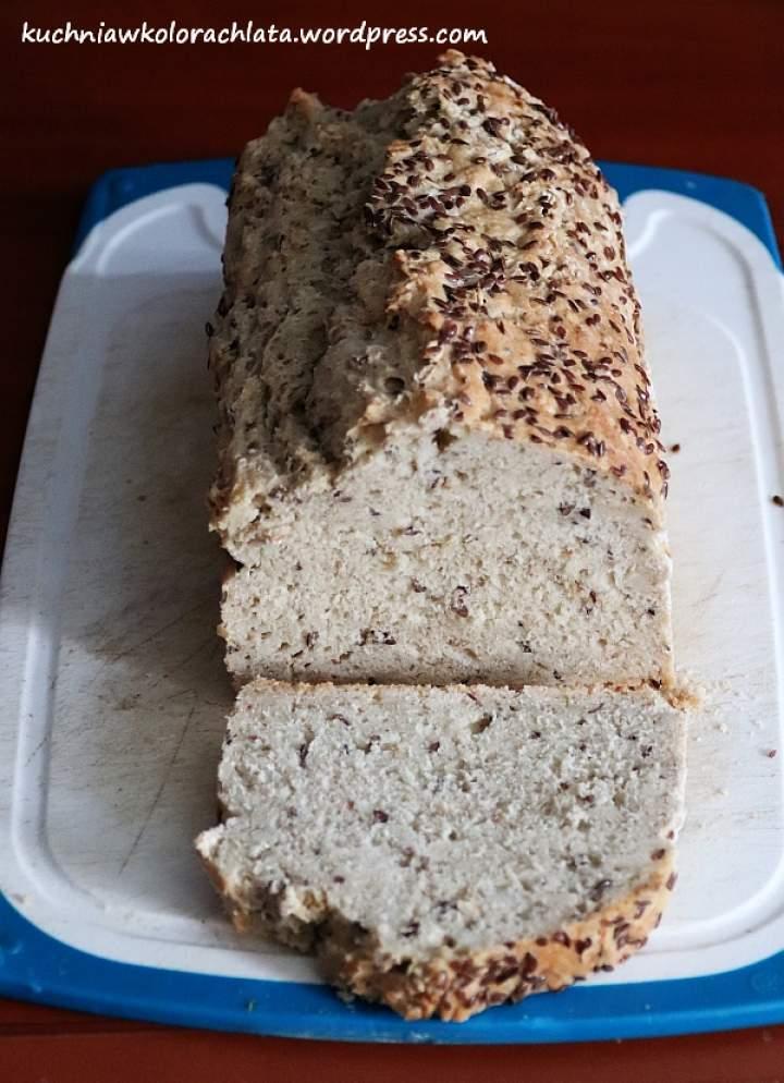 Chleb owsiany z siemieniem lnianym