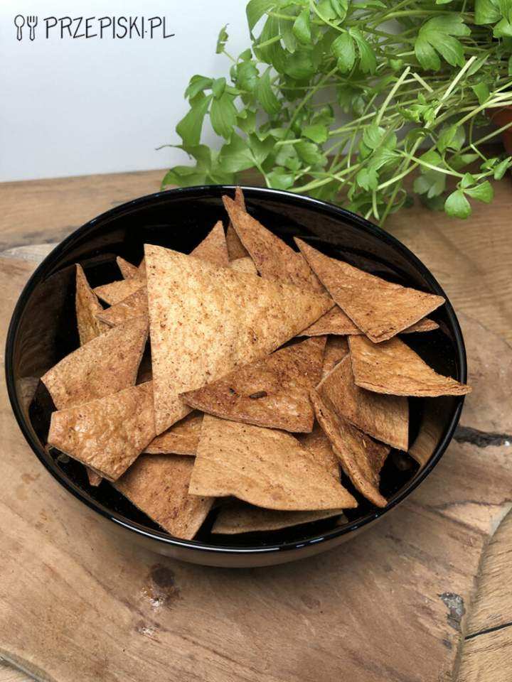 Domowe Chipsy z Tortilli