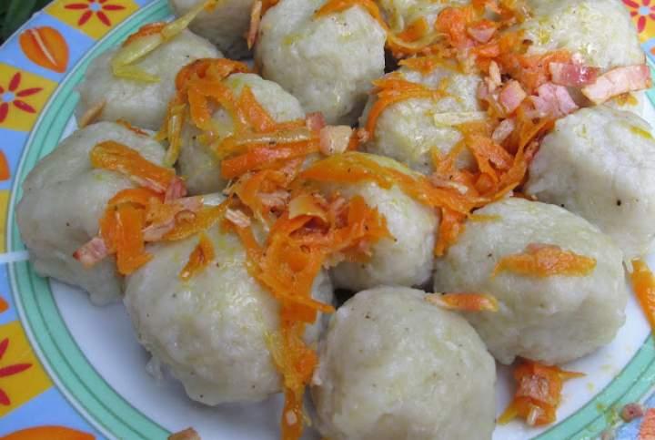 SZARE KLUSKI/ŻELAZIAKI -przepis na pyszny i tani obiad z ziemniaków FILM
