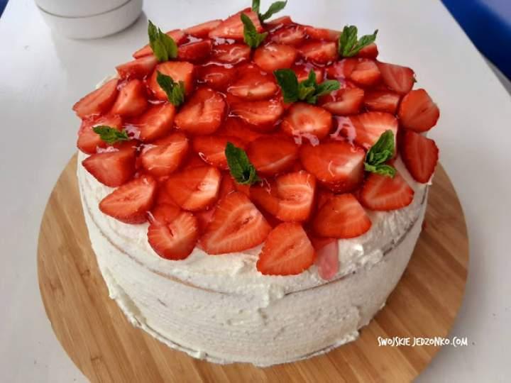 Tort truskawkowy – krok po kroku – pychotka!!