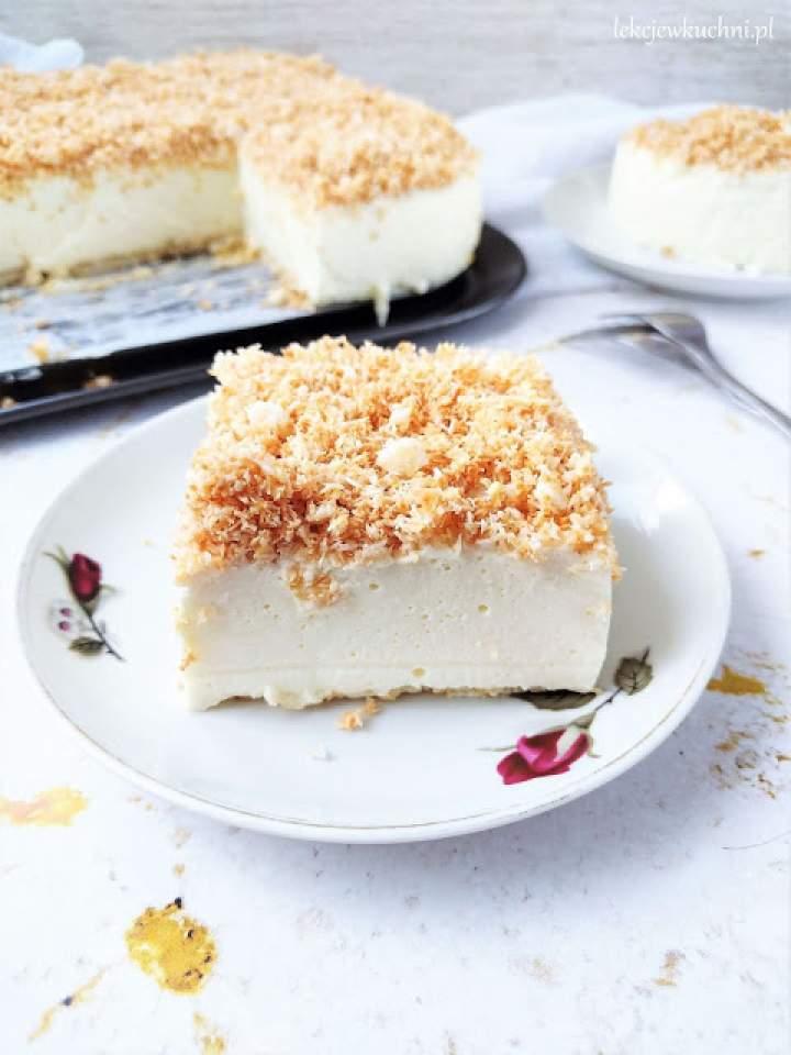 Ciasto Śnieżny Puch bez pieczenia
