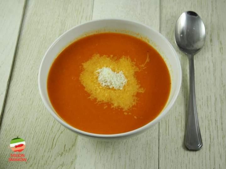 Zupa krem z pomidorów i selera naciowego
