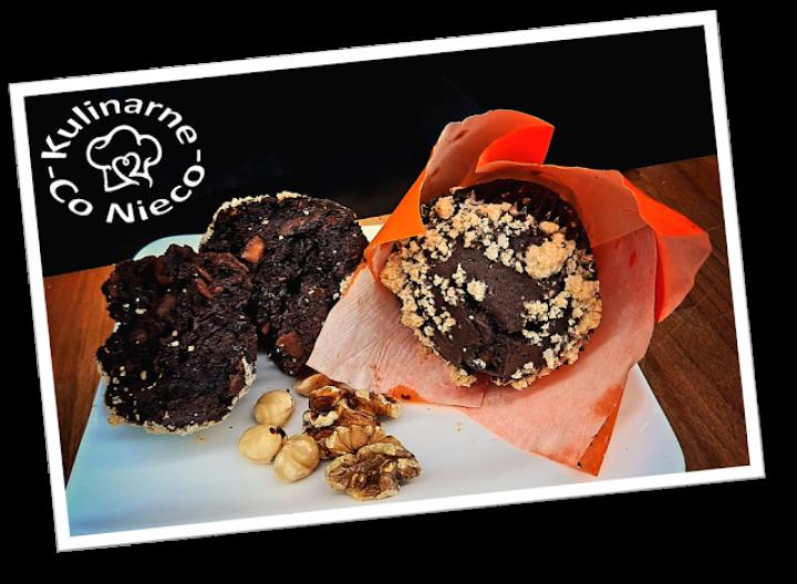 Amerykańskie Muffinki Czekoladowe z Orzechami