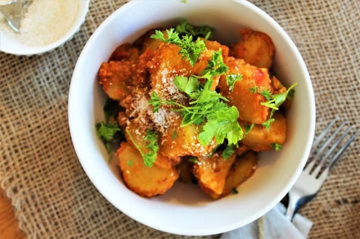 Bombay Aloo – hinduskie ziemniaczane curry