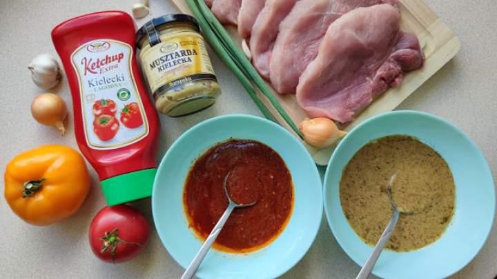 Marynaty do mięs z grilla – musztardowa i ketchupowa