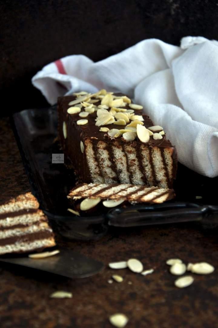 Ciasta z masą czekoladową bez pieczenia