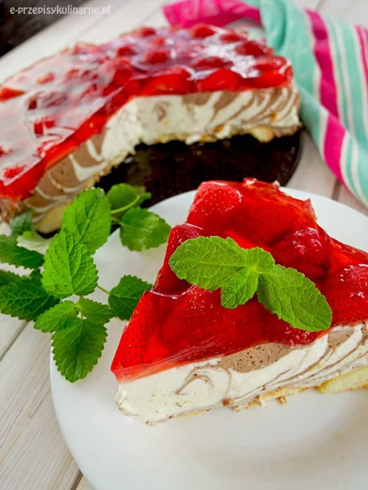 Ciasto Pani Zebra – pyszny jogurtowiec bez pieczenia