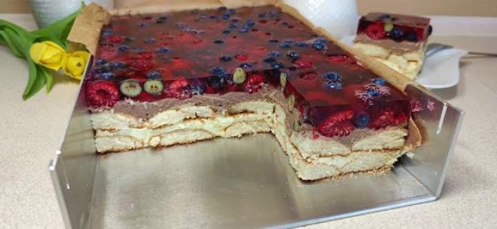 Lodowiec 🤩 Pyszne ciasto bez pieczenia ✔️ Proste w przygotowaniu 🍰