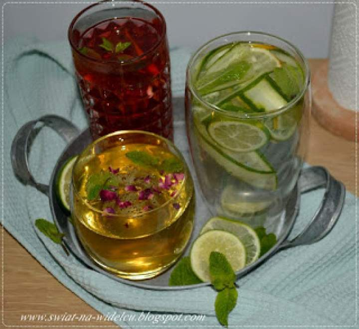 Domowe napoje chłodzące