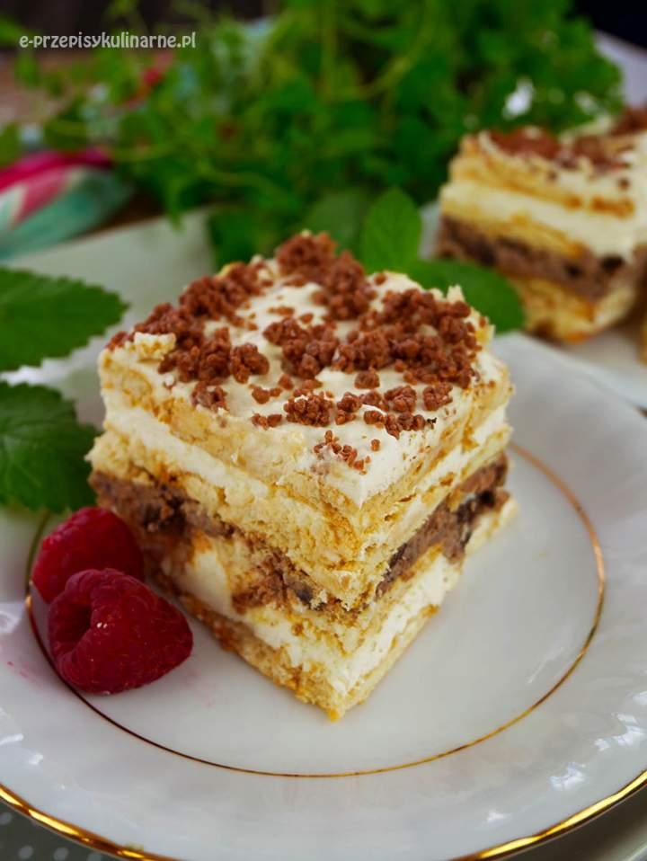 Ciasto Fintifluszka – najprostsze ciasto bez pieczenia z 4 składników