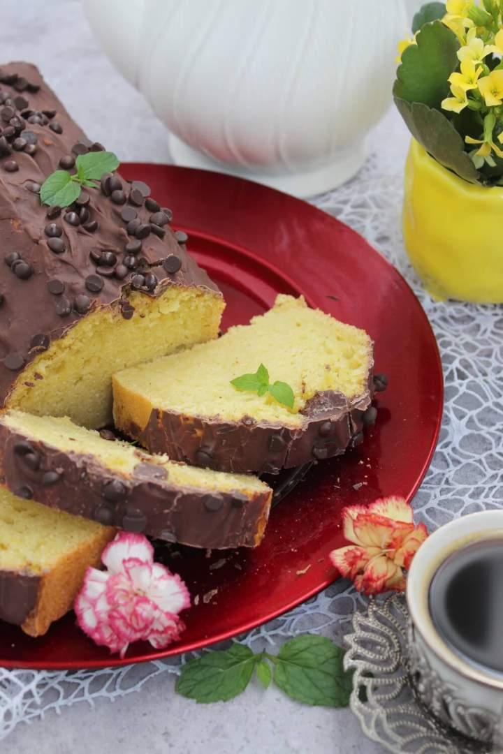 Ciasto waniliowe na wodzie gazowanej