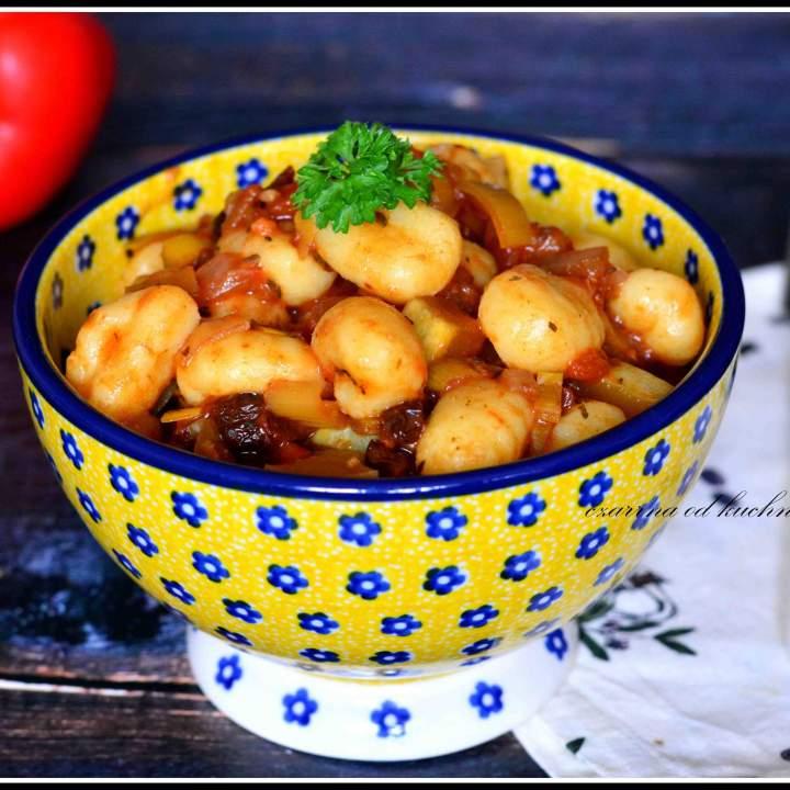 Gnocchi z warzywnym ragout