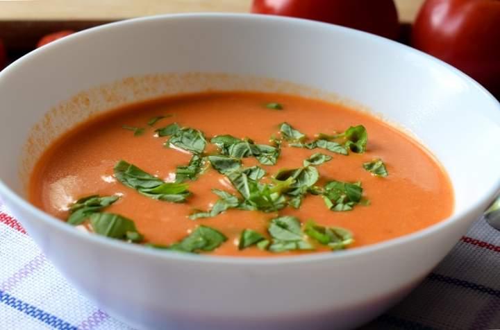 Kremowa zupa pomidorowa + filmik
