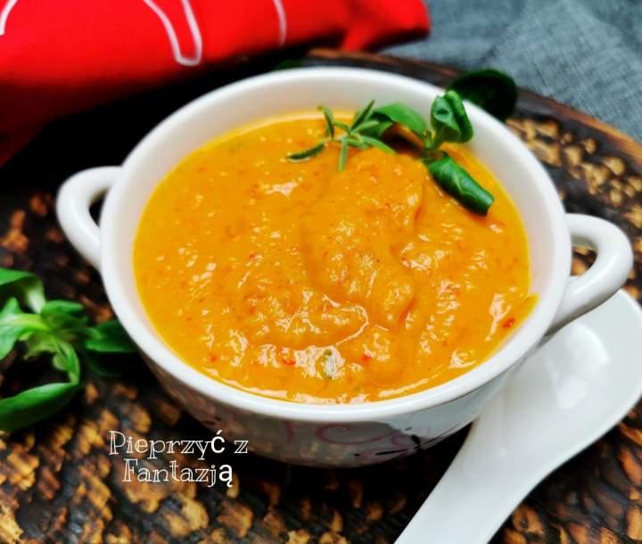 Pieczona jesienna zupa krem