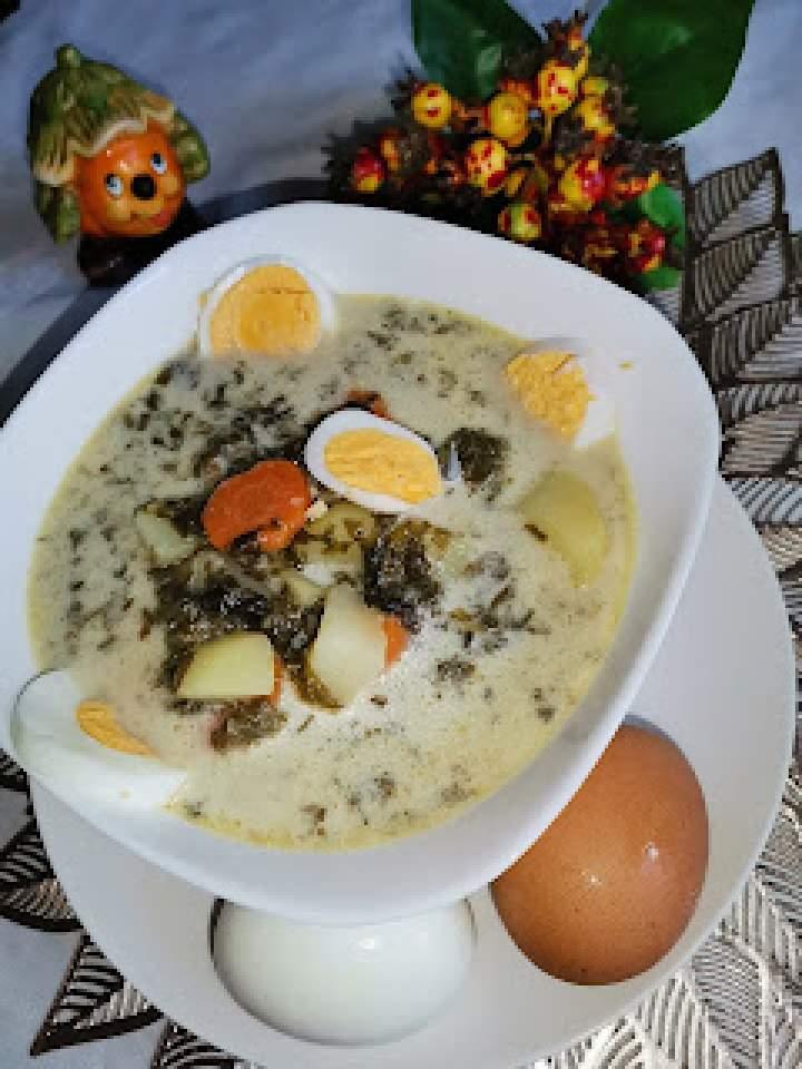 Zupa szczawiowa bezmięsna