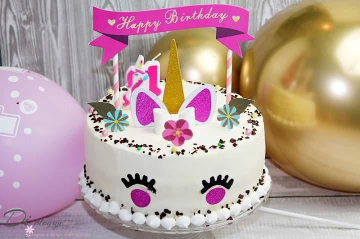 Tort dla dziewczynki Jednorożec