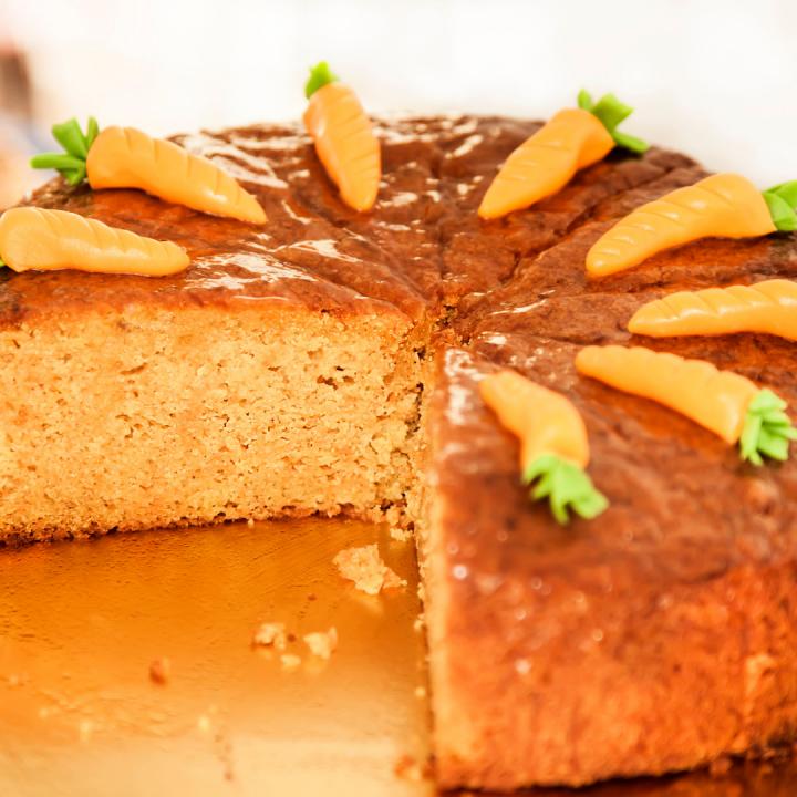 Przepis na Fit ciasto marchewkowe