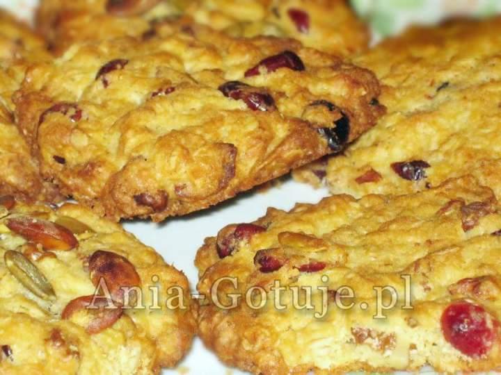 Ciasteczka owsiane z żurawiną Ewy Wachowicz