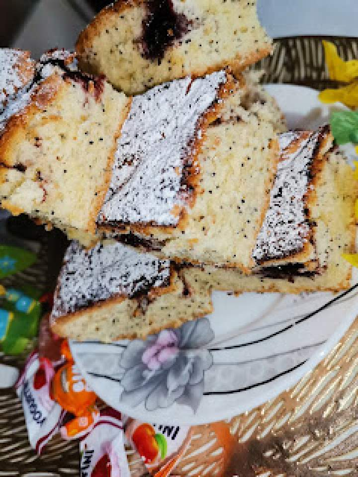 """Ciasto majonezowe """" Piegusek """""""