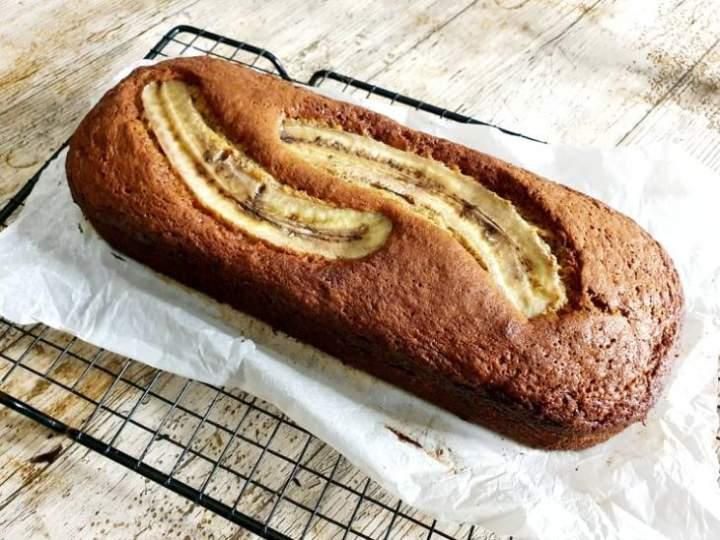 Najprostszy na świecie chlebek bananowy.