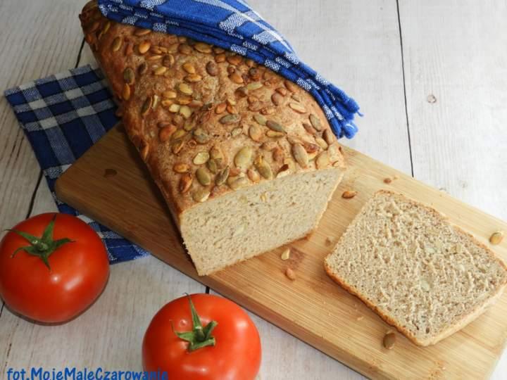 Chleb pszenno – orkiszowy z pestkami dni