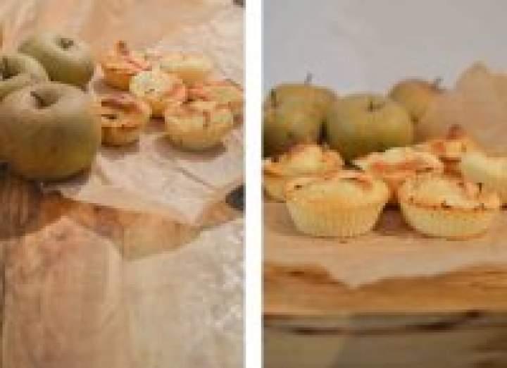 Muffiny z jabłkami – pomysł na drugie śniadanie do szkoły, który robię od przeszło 3 lat